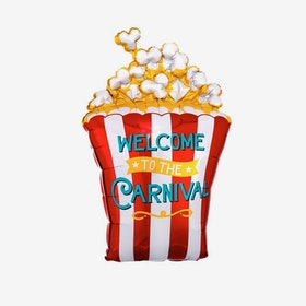 Folieballong - Popcorn