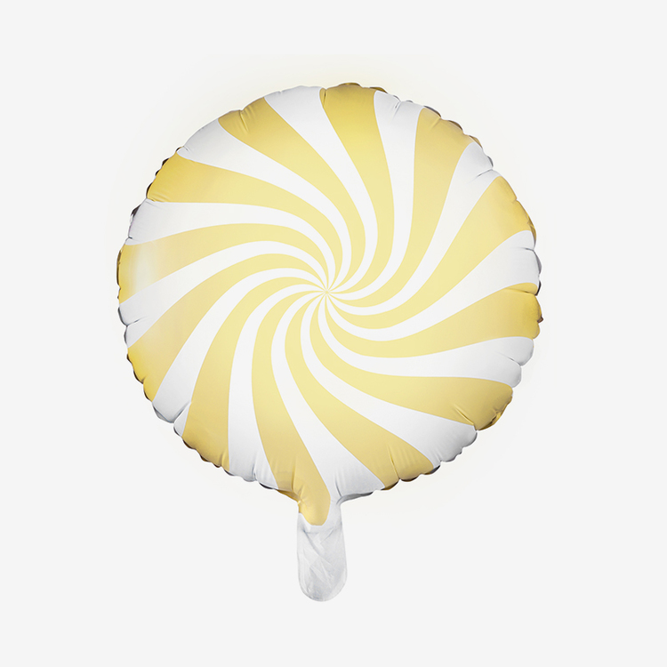 Folieballong - Candy Gul