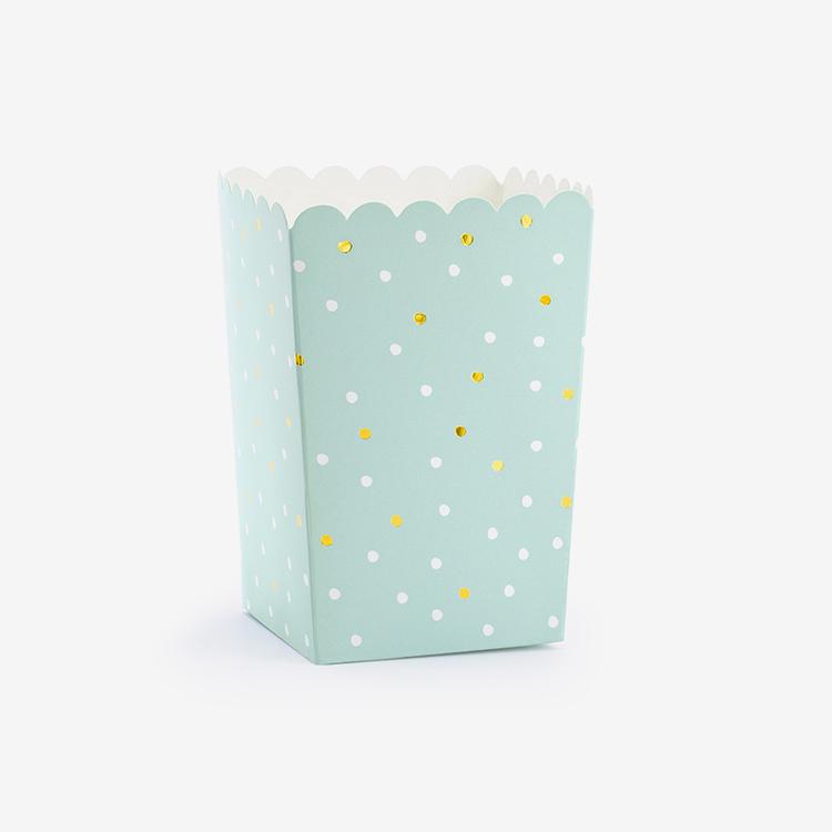 Popcorn Bägare - Mint