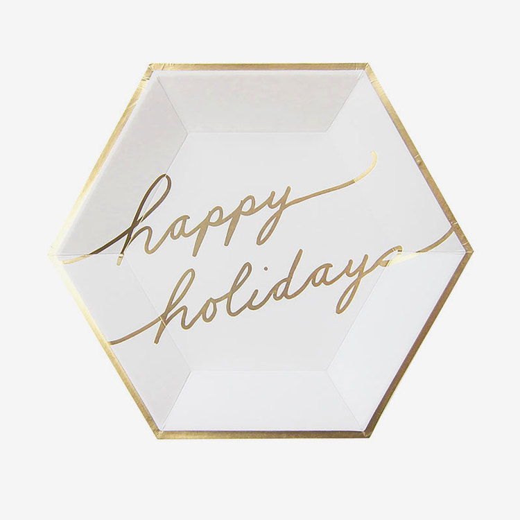 Tallrikar - Blanc - Holidays