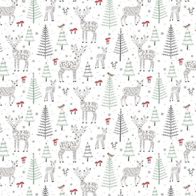 Presentpapper - Winter Deer