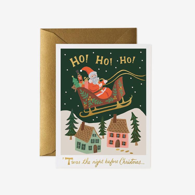 Julkort - Christmas Delivery