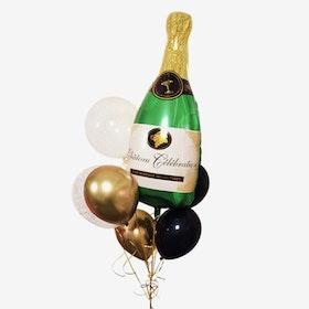 Ballongbukett Nyår - Champagne Bubbles