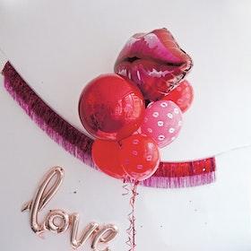 Ballongbukett - Kiss me