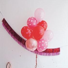 Ballongbukett - Valentines