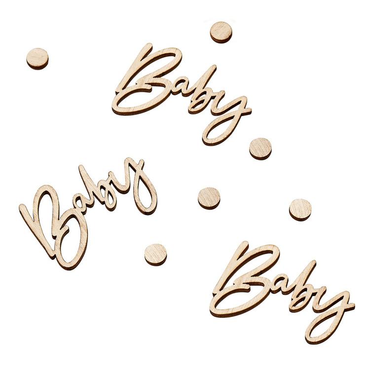 Konfetti - Baby - Trä