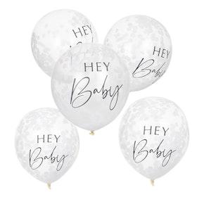 Konfettiballonger - Hey Baby
