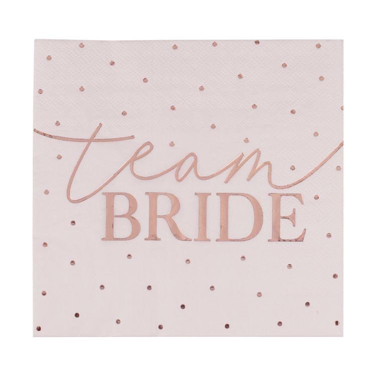 Servetter - Team Bride - Blush