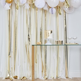 Backdrop Streamer - Metallic