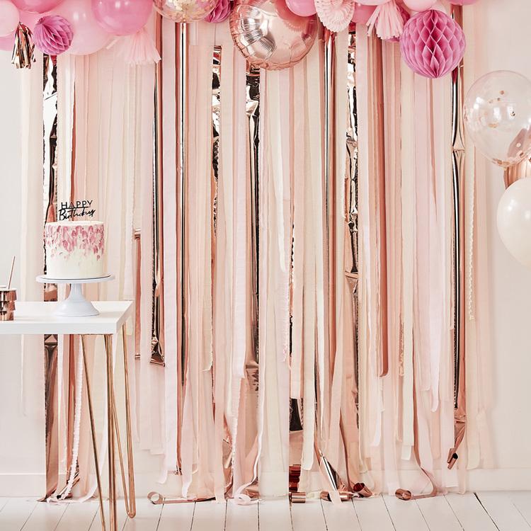 Backdrop - Streamer - Rosé