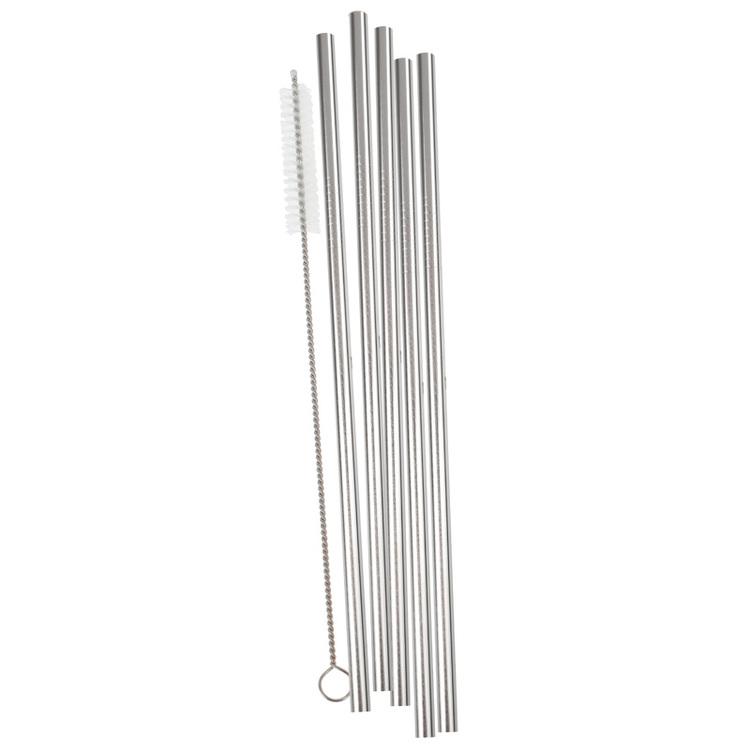 Sugrör - Rostfritt Stål - Silver