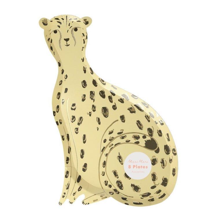 Tallrikar - Safari Cheetah