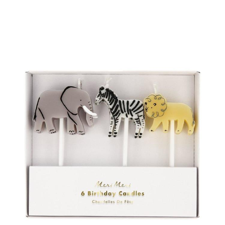 Tårtljus - Safari