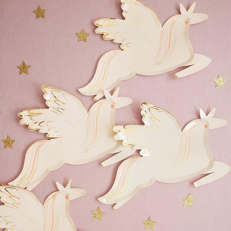 Tallrikar - Winged Unicorn