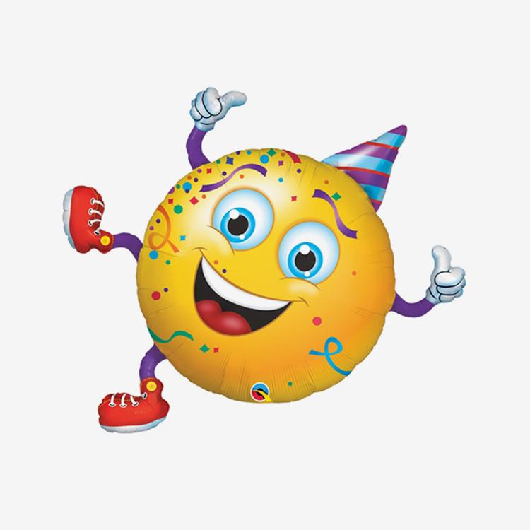 Folieballong - Party Emoji