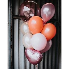Ballongbukett - Pink dream