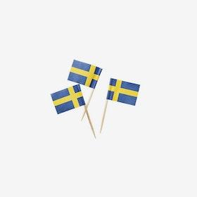 Partypicks - Svenska flaggan
