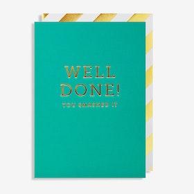 Kort - Well done