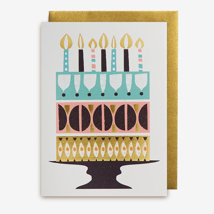 Kort - Birthday cake