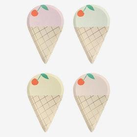 Tallrikar - Ice Cream