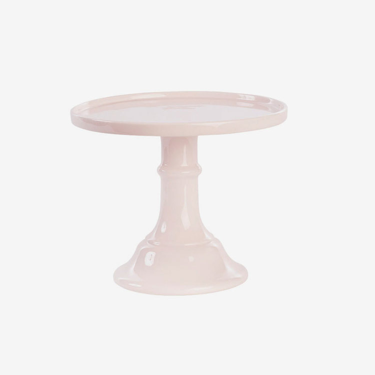 Tårtfat Keramik - Ljusrosa
