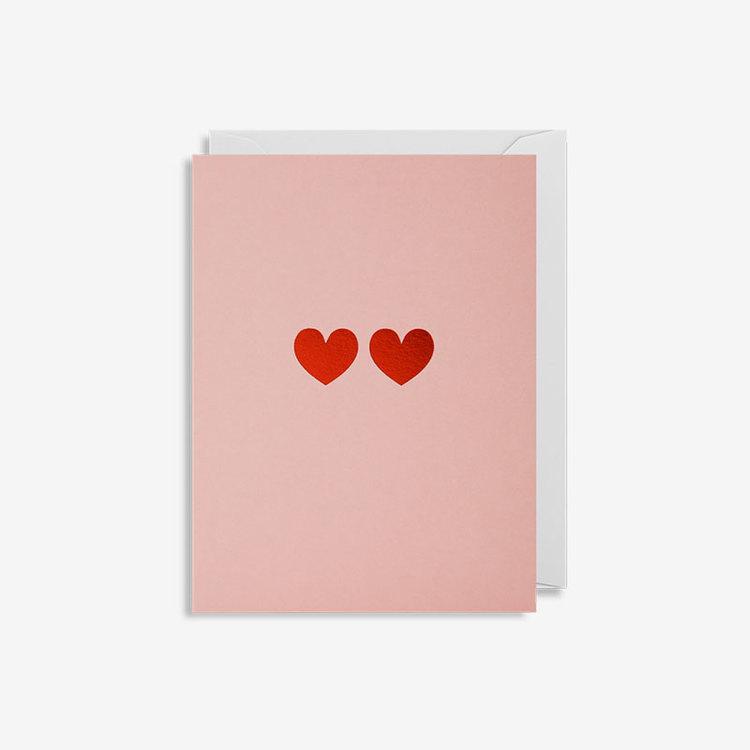 Minikort 2 Hearts