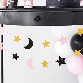Vimpel - Stjärnor och Månar