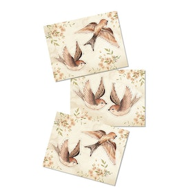 Paper Friends Sparrows -  Mrs Mighetto