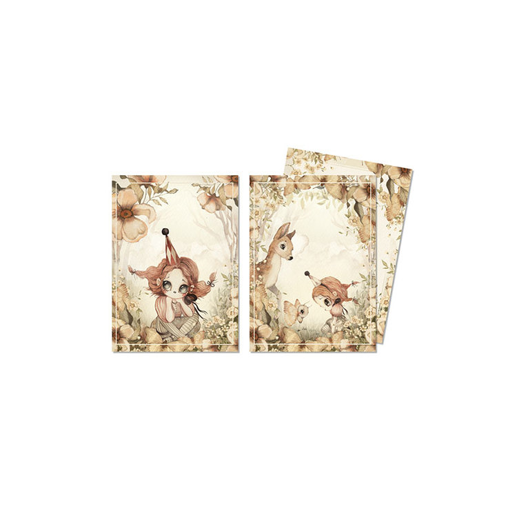 2-pack kort The Floral Glade -  Mrs Mighetto