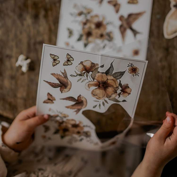 Tatueringar Flowers & Flying Friends -  Mrs Mighetto