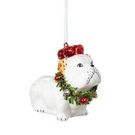 Julgranskula - Brittisk Bulldog