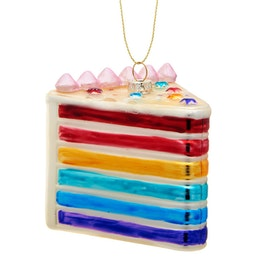 Julgranskula - Tårtbit - Rainbow