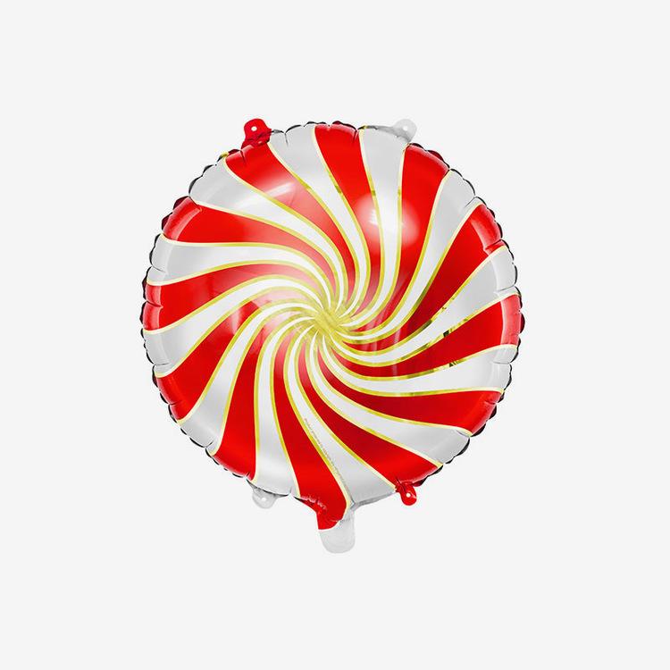 Folieballong - Candy Red