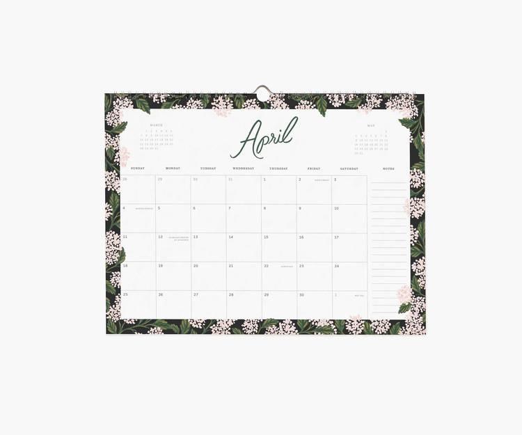 Väggkalender - 2021 Garden