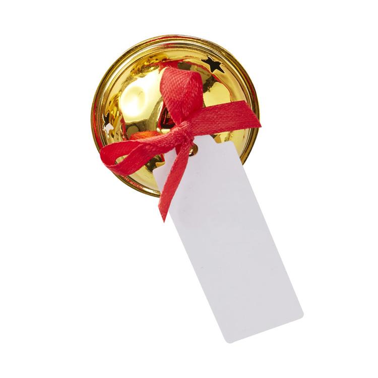 Placeringskortshållare - Bjällra - guld
