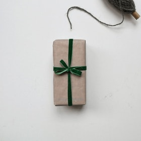 Presentpapper - Vaxat Beige