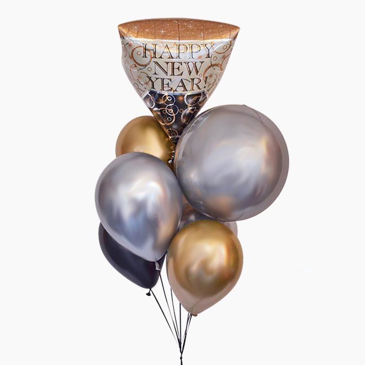 Ballongbukett - Happy New Year