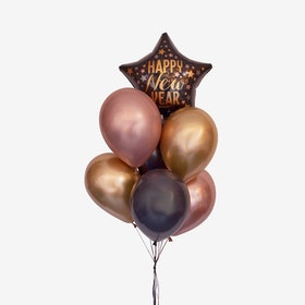 Ballongbukett - New Year Star
