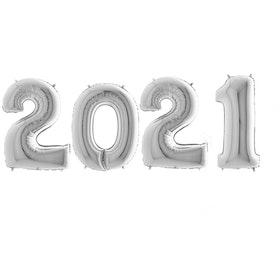 Sifferballonger 2021 - Silver