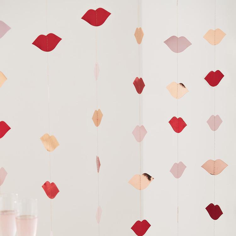 Backdrop - Lips - Valentine