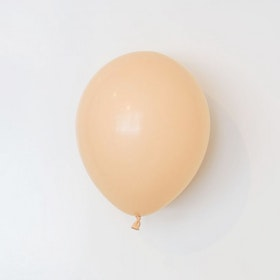 Heliumfylld latexballong 28cm - Blush