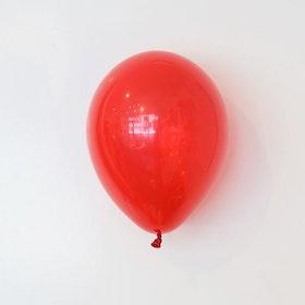 Heliumfylld latexballong 28cm - Röd