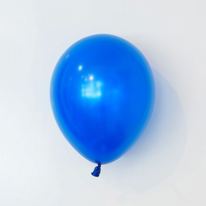 Heliumfylld latexballong 28cm - Mörkblå