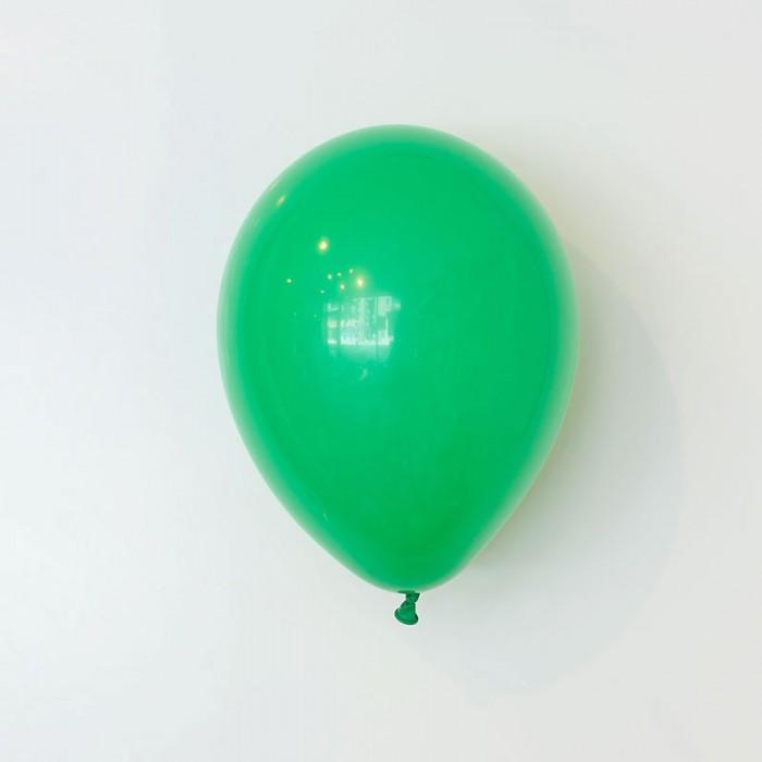 Heliumfylld latexballong 28cm - Grön