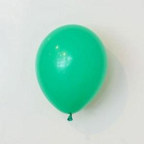 Heliumfylld latexballong 28cm - Vintergrön