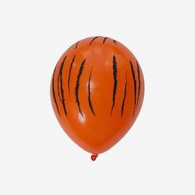 Heliumfylld latexballong 28cm - Tiger