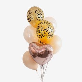 Heliumfylld Ballongbukett - Leo Love