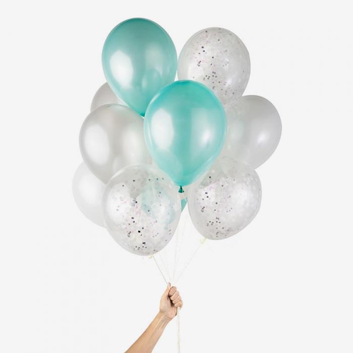 Heliumfylld Ballongbukett - Under the Sea