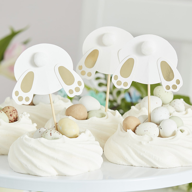 Cupcake Toppers - Easter Bunny