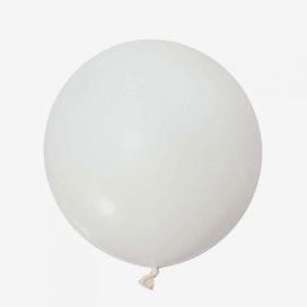 Heliumfylld Jätteballong - Vit